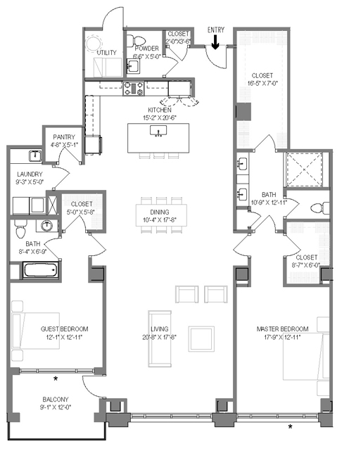 The Malone Floor Plan